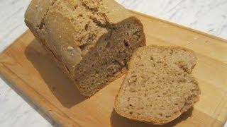 Смотреть онлайн Рецепт вкусного ржаного хлеба с семечками в хлебопечке