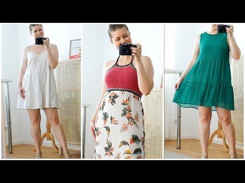 Welche Sommerkleider für KURVIGE Frauen? Meine 3 TOP TIPPS bei viel Bauch | Das weiße Reh
