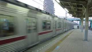 preview picture of video '東武東上線9000系快速 朝霞駅通過 Tobu 9000 series EMU'