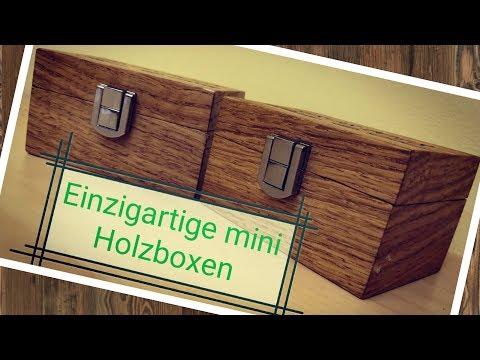 Einzigartige mini Holzbox