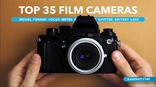 Top 35 Film Cameras (Specs + Sounds)
