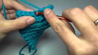 Bosnian Crochet Beanie Bosnisch Häkeln Kettmaschen Häkeln