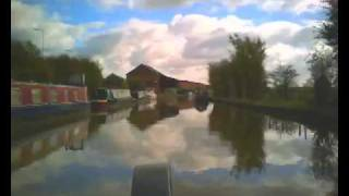 preview picture of video 'timelapse Tattenhall Marina to Wrenbury'
