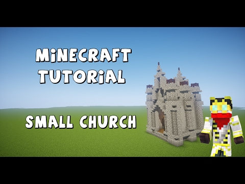 How to build your own gothic church Minecraft Project