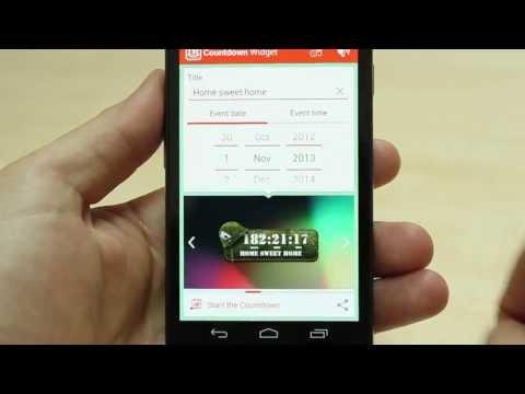 Video of Countdown Days - App & Widget