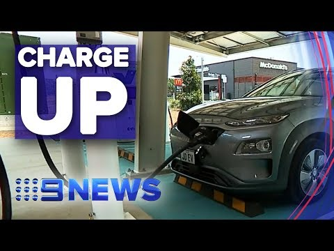 New high speed electric car charging stations coming to QLD | Nine News Australia