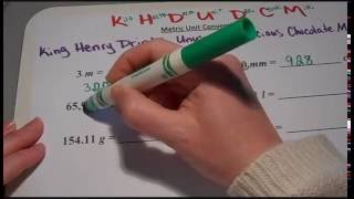 How to do Metric Unit Conversion (6th grade and up)