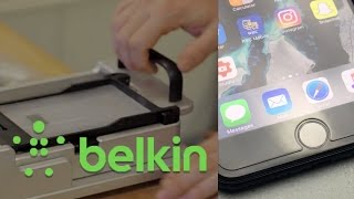 iPhone 7 Plus Belkin Glass Screen Protector - Apple Store Installation