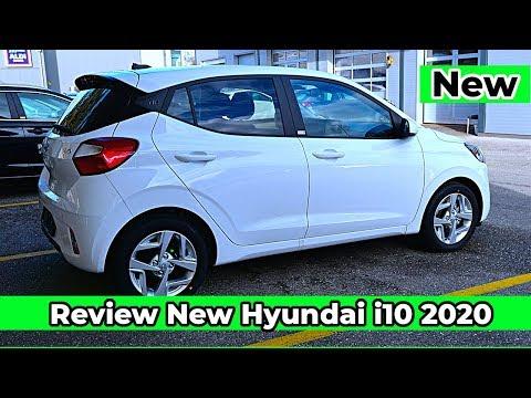 Review New Hyundai i10 2020 Interior Exterior