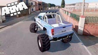 САМЫЙ дорогой Monster Car на острове РИМАС РП! Админские будни - Arma 3 Altis Life