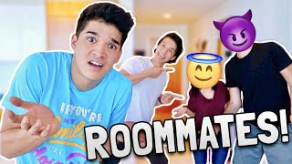 MY NEW YOUTUBER ROOMMATES?!