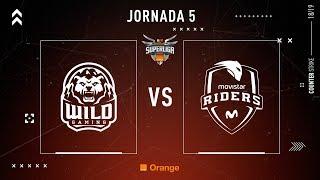 Wild Gaming VS Movistar Riders   Jornada 5   Temporada 2018/2019