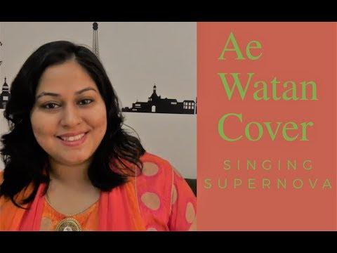 Ae Watan | Raazi | Alia bhatt | Sunidhi chauhan | Arijit Singh | Cover By Singing Supernova