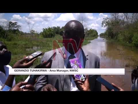 Floods threaten Kacunga intake water plant