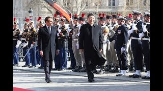 LIVE: President Xi Jinping attends welcome ceremony in France