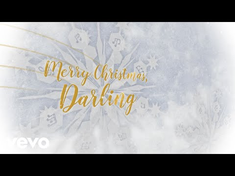 Carpenters - Merry Christmas, Darling (Lyric Video)