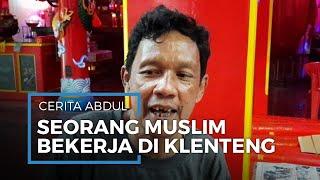 Cerita Seorang Muslim Bernama Abdul, 20 Tahun Jadi Pegawai Klenteng Hok Lay Kiong Bekasi