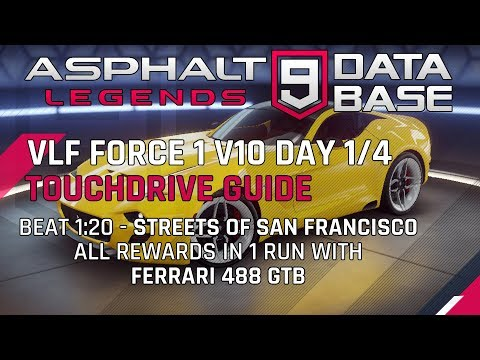 VLF Force Day 1 / 4 Streets of SF Touchdrive Guide
