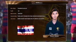 Hồ sơ tuyển thủ: Tharn Silalai - Thailand [ The Intercontinentals 2016 ]
