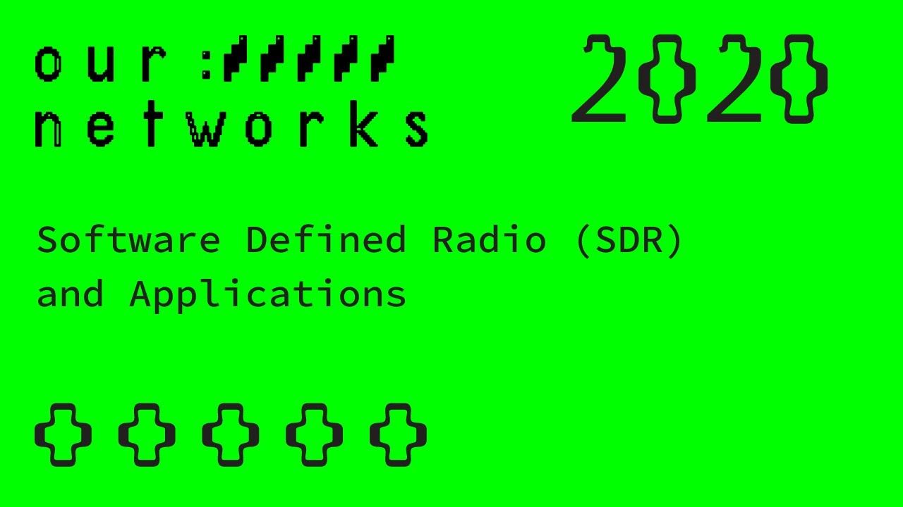 Video thumbnail for Software Defined Radio (SDR) and Applications