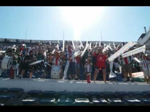 """""""LOS BAISANOS PALESTINO en las buenas y en las re malas"""" Barra: Los Baisanos • Club: Club Deportivo Palestino"""