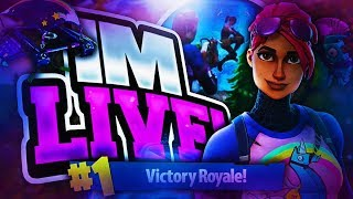 Early Fortnite  live Stream with Malcolm(Road to 300 subs!!!)