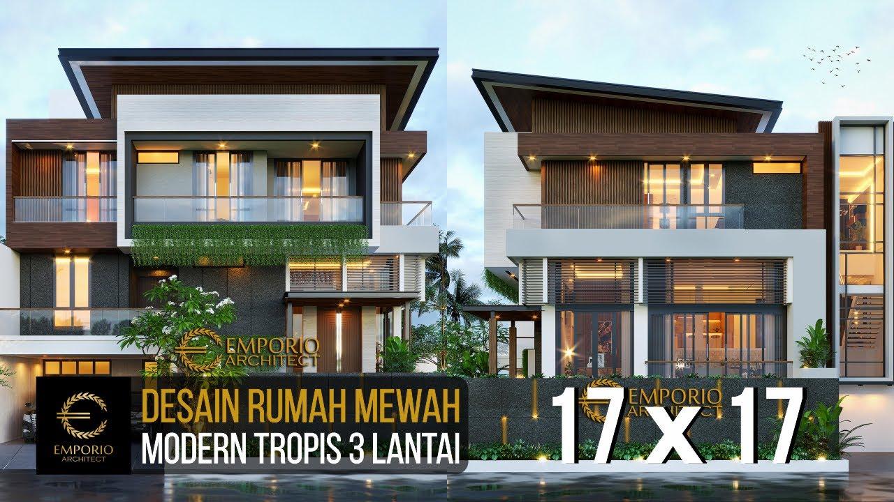 Video 3D Mr. Windu Modern House 3 Floors Design - Bintaro, Jakarta Selatan