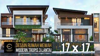 Video Desain Rumah Modern 3 Lantai Bapak Windu di  Bintaro, Jakarta Selatan