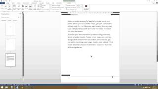 Word: Page number start on page 3 - Tutorial [HD, Microsoft Office 2013, 2010]
