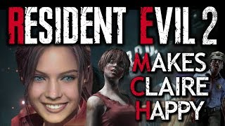 Claire Does Resident Evil Cowgirl Style
