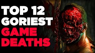 Top 12 Goriest Game Deaths