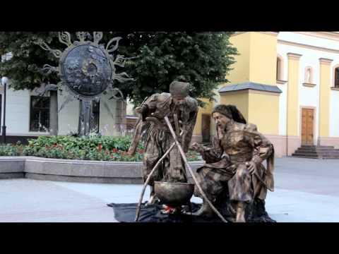 Відео Міми, живі статуї  4