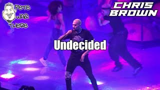 Chris Brown - Undecided (AT&T Center, San Antonio, TX 10/08/2019) HD