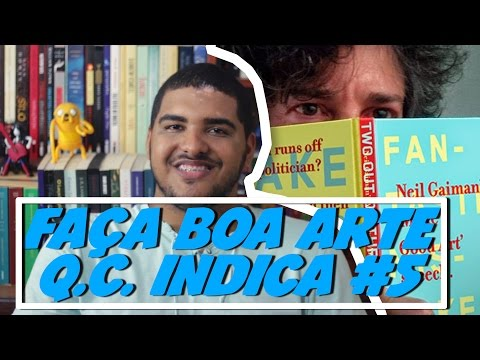 FAÃA BOA ARTE NEIL GAIMAN - Q.C. INDICA #5
