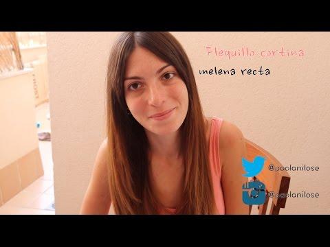 FLEQUILLO CORTINA + MELENA RECTA |  Corta tu pelo en casa.