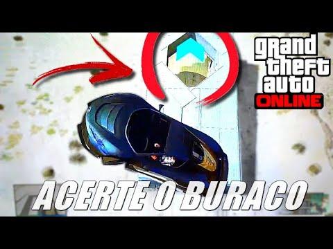 GTA V Online: CORRIDA para ACERTAR o BURACO (ALVO)