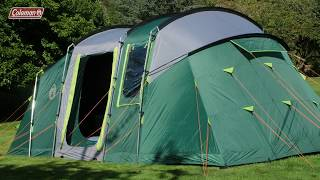 Coleman® MacKenzie 6 BlackOut - 6 person family tent with BlackOut Bedrooms®