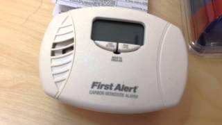First Alert CO615 Carbon Monoxide Detector Alarm Plug In Review