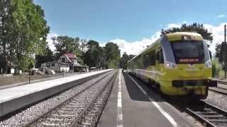 preview picture of video 'HEL dworzec PKP - Odjazd pociągu Regio do Gdyni Głównej'