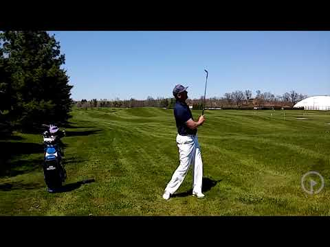 Learn the Correct Release for a High Pitch Shot