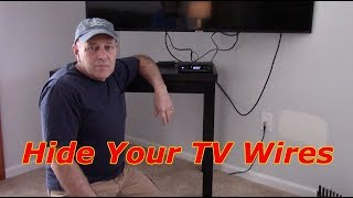 How To Mount A Cable Box & Hide The Wires In The Wall