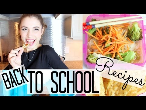 Back To School Recipes!