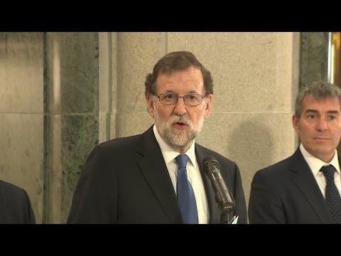 Rajoy firma con Coalición Canaria el apoyo a los PGE