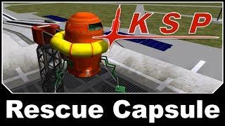 KSP Mods - Gerdin Montaplex Rescue Capsule