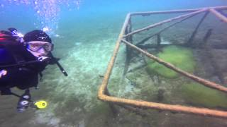 Scuba Diving Higgins Lake, South King Road, Sept 18, 2015