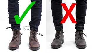 6 Boot Rules Every Man Should Know Before Wearing Boots