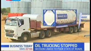 Tullow oil suspends transportation of crude oil owing to severe damage of roads in Turkana