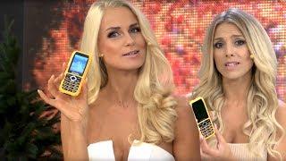 Katie Steiner & Anne-Kathrin Ksoch testen MOBILE Outdoor-Handy