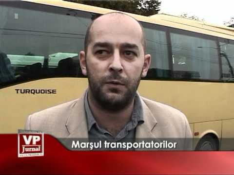Marşul transportatorilor