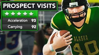 5 STAR ATHLETE VISITS CAMPUS IN MUST WIN GAME! | NCAA 14 Alaska Eagles Dynasty Ep. 7